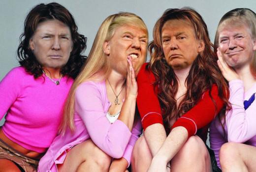 Donald Trump funny satire