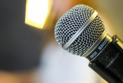 microphone - a political story to die for